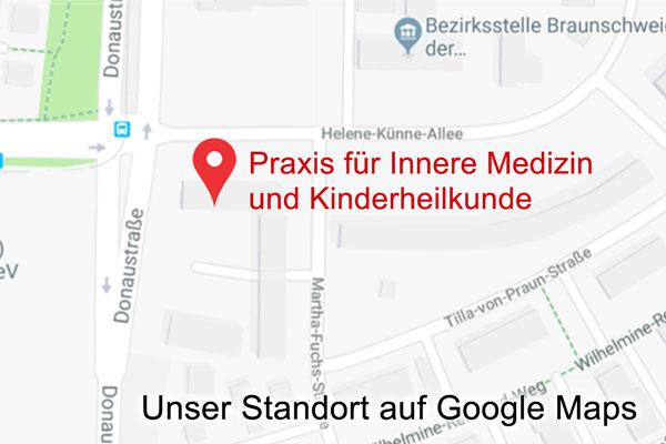 Sie finden uns in der Helene-Künne-Allee 4 in Braunschweig-Broitzem, gegenüber vom Hauptzollamt.